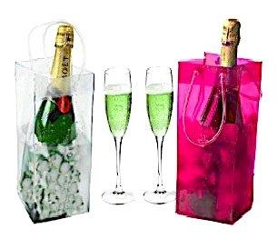 Sacola Porta Champagne com gelo