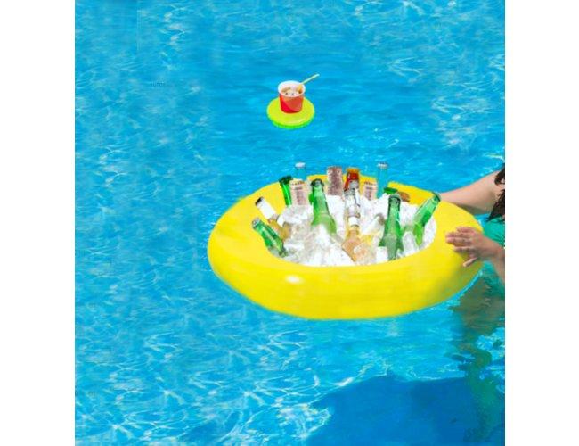 Bar boia flutuante para piscina