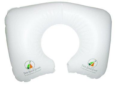 Encosto de pescoço inflável personalizados