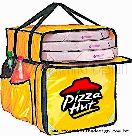 Mochilas para transporte de Pizzas