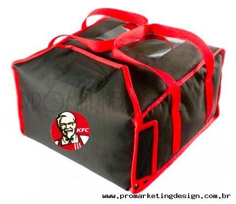Bolsa Térmica Pra Transporte de Pizzas e marmitex