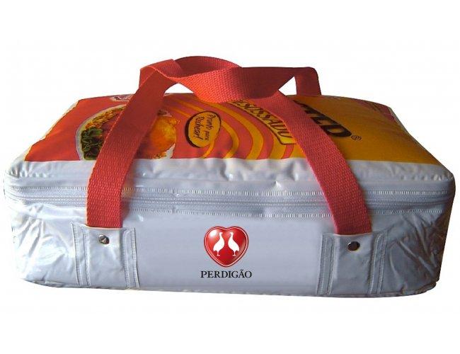 Bolsa térmica personalizada para chester desossado