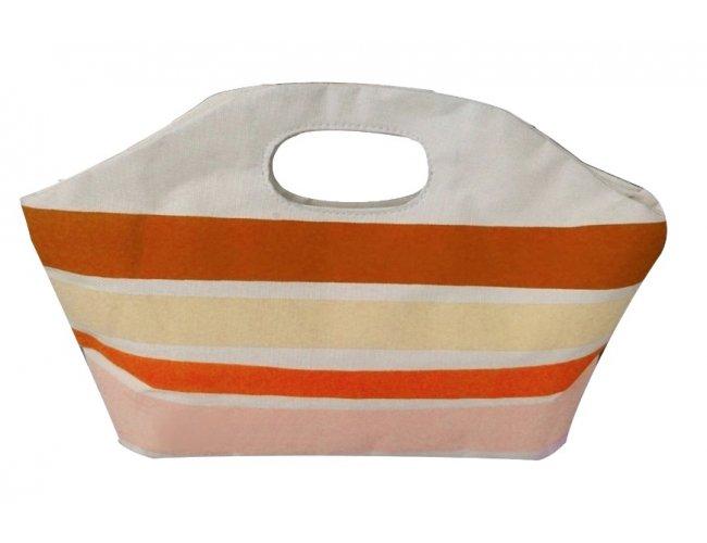 Bolsa térmica com alça vazada personalizada em nylon 70