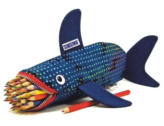 Estojo Porta Lapis Tubarão TLP/229